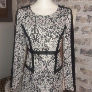 Gianni Bini Black and White dress